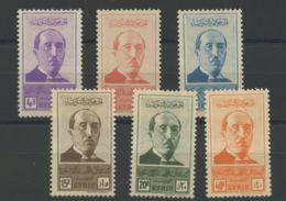 Syrie (1945) N 278 A 283 (charniere) - Nuevos