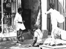 Photo Inde Calcutta Mendiants...  Ph. Vivant Univers - Lugares