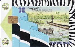 Botswana, Chip P25 - Botsuana