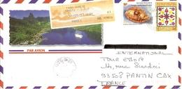 Polynésie Française 1997 - Enveloppe Illustrée PA De Tahiti/Aéroport à Pantin, France - YT 504/530 + EMA FAAA - Annexe - Französisch-Polynesien