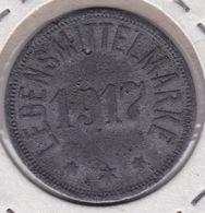 Jeton - Token - Pièce Nécessité 1/2 Mark 1917 Gut Fur Stadt Eupen Lebensmittelmarke - Ohne Zuordnung