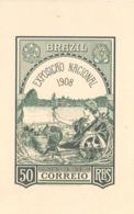 BRASILE  POST CARD  STATIONERY   1908 FANTASTIC   (FEB201330) - Interi Postali