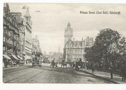 CPA, G.B., - N° 38167,Edinburgh ,Princes Street , Ed. Valentines Serie - Midlothian/ Edinburgh