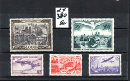 B422 Mini Stock De Timbres De France OblitérésPA Dont 1ère Plaquette **  (côte Seule 380 Euros) Très Sympa !!! - Stamps