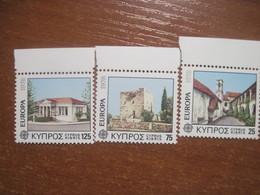 Cyprus 1978 EUROPA CEPT Architecture MNH - Europa-CEPT