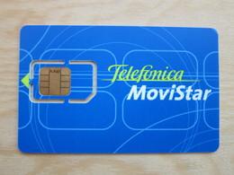 Movistar GSM SIM Card,Dual, Fixed Chip - Telefonica