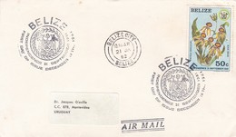 INDEPENDENCE, 21 SEPTEMBER 1981. BELIZE 1982 FDC -LILHU - Belice (1973-...)