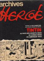 Archives Hergé   1973 - Hergé