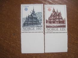 Norway 1978 EUROPA CEPT Architecture MNH - Europa-CEPT
