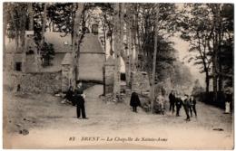CPA 29 - BREST (Finistère) - 83. La Chapelle De Sainte-Anne - ELD (animée) - Brest
