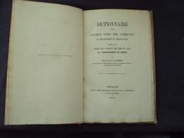 1874-Livre  Des Anciens Nom En LATIN, Des Communes De SEINE Et OISE, H. COCHERIS  Net   20 E - 1801-1900