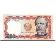 Billet, Pérou, 5000 Intis, 1985, 1985-06-21, KM:137, SPL - Pérou