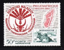 # Madagascar Malagasy .. YT 109 ** SC .. Abidjan, Buffle Ile .. Cote 2.50 € - Madagascar (1960-...)