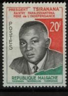 # Madagascar Malagasy .. YT 355 / 356  ** SC  PresidentTsiranana .. Cote 1.80 € - Madagascar (1960-...)