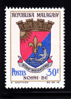 # Madagascar Malagasy .. YT 439  ** SC .. Blason Nosi-Be .. Cote 0.80 € - Madagascar (1960-...)