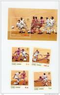 Cap Vert-Cabo Verde-Coupe Du Monde De Foot 1990-Italie-570/3+B14***MNH - Cap Vert