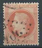 FRANCE 1868 - Napoléon - YT N°31 - 40c. Orange - Oblitéré Losange - TB Etat - 1863-1870 Napoléon III Lauré