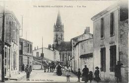 SAINT MICHEL EN L' HERM Une Rue - Saint Michel En L'Herm