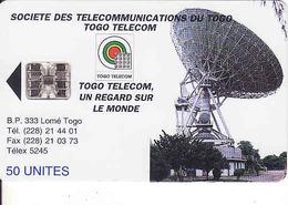 Togo, Chip 50 Units - Togo
