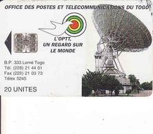 Togo, Chip 20 Units - Togo