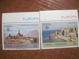 Turkey 1978 EUROPA CEPT Architecture MNH - Europa-CEPT