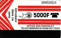 Togo, Magnetic 5000 F - Togo