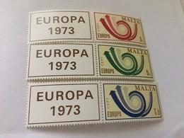 Malta Europa 1973  Mnh - Europa-CEPT