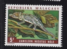 # Madagascar Malagasy .. YT 524  ** SC .. Cameleon Lezard .. Cote 0.30 € - Madagascar (1960-...)