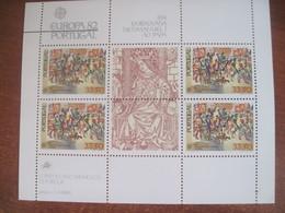 Portugal 1982 EUROPA CEPT S/S MNH - 1982