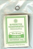 RDV - Pochettes 53x32 Fond Noir (simple Soudure) - Mounts