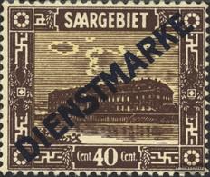 Saar Mi.-number.: D8 Unmounted Mint / Never Hinged 1922 Landscapes III - 1920-35 Société Des Nations