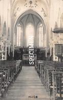 Fotokaart Binnenzicht Kerk - Moen - Avelgem ? - Zwevegem