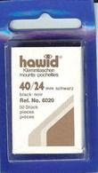 Hawid - Pochettes 40x24 Fond Noir (simple Soudure) - Bandes Cristal