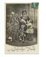 CPA Père Noël Santa Claus Enfants - Santa Claus