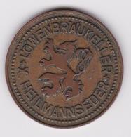 Jeton - Token - LOWENBRAUKELLER - HEILMANNSEDER - LUXEMBOURG ? - Noodgeld