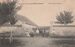 ENTREE DE LA FERME DE BREVIANDES - BELLE CARTE ANIMEE - PEU COURANTE - - France