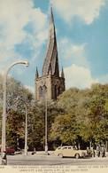 Postcard The Parish Church Chesterfield My Ref  B13969 - Derbyshire