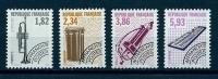 """FR Préo YT 228 à 231 """" Instruments De Musique VI """" 1993 Neuf** - Precancels"""