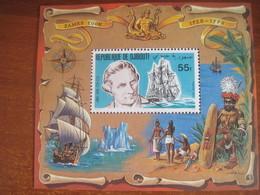 Djibouti 1979 James Cook Ships S/S MNH - Djibouti (1977-...)