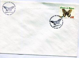 BOLIVIA 2001 FDC LA PAZ SERIE MARIPOSAS EL BUHO CALIGO IDOMINEUS - NTVG. - Bolivia