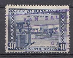 El Salvador 1944/46  Mi.nr: 606  Flugpost  Oblitérés - Used - Gebruikt - El Salvador
