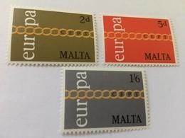 Malta Europa 1971   Mnh  #ab - Europa-CEPT