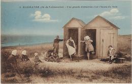 85 Ile De   Noirmoutier Barbatre  Une Grande Distraction  C'est L'heure Du Bain - Ile De Noirmoutier