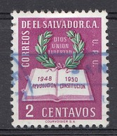 El Salvador 1952  Mi.nr: 671 Jahrestag Der Revolucion  Oblitérés - Used - Gebruikt - Salvador
