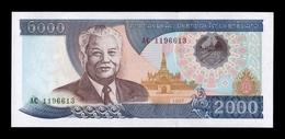 Laos Lao 2000 Kip 1997 Pick 33a SC UNC - Laos