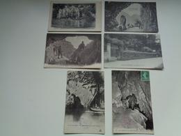 Lot De 60 Cartes Postales D' étranger  Grottes  Grotte  Lot Van 60 Postkaarten Van Buitenland  Grotten  Grot  - 60 Scans - Postkaarten