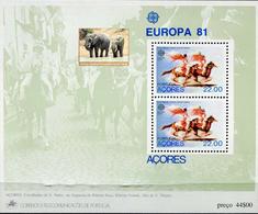 PORTUGAL ACORES  -  ELEPHANTS - VERY INTERESTING - 1 Sheet MNH - Eléphants