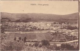 POSTCARD SPAIN ESPAÑA - GALICIA - ORENSE - VERIN - VISTA GENERAL - Orense