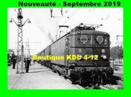 AL 609 - Train - Loco BB 8124 En Gare De LAROCHE-MIGENNES - Yonne - SNCF - Eisenbahnen