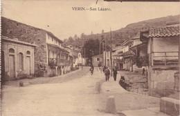 POSTCARD SPAIN ESPAÑA - GALICIA - ORENSE - VERIN - SAN LÁZARO - Orense